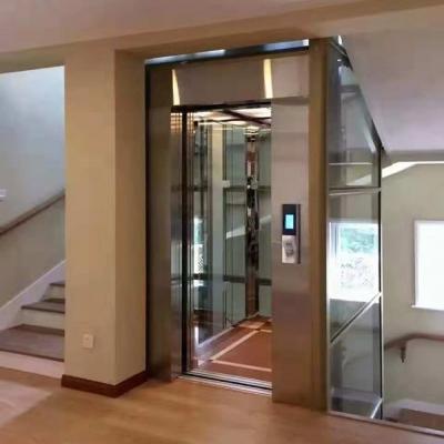 观光式家居电梯视频演示
